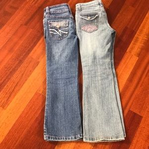 Girls jeans size 7/8